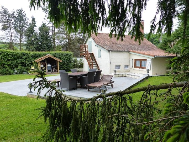 Propriété du vieux Gauchy - étang exceptionnel