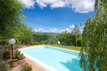 Casa & piscina vicino terme - Radicofani - Σπίτι