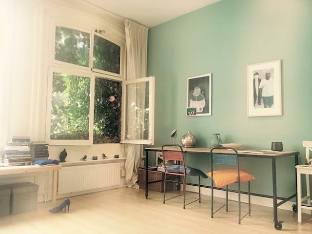In the heart of amsterdam this great studio