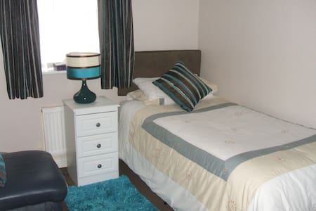 Single room, private bathroom. - Blackpool - Huis
