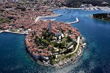 Rovinj from the air!