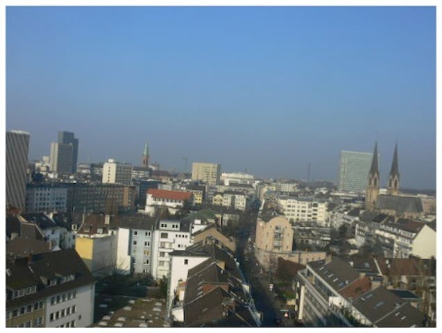 Panorama Apartment Düsseldorf City