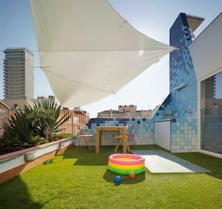 Triplex penthouse Old Town - Alicante - Loft