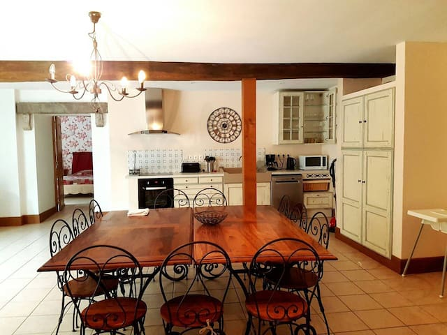Gites Saint-Aubin/Grande maison côte de Beaune