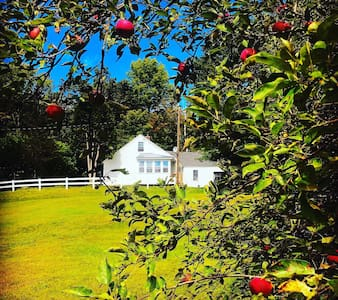 Southwest NH rustic updated farmhouse 200 acres