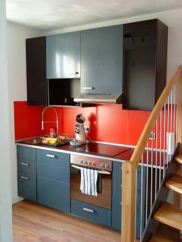 App. Rebekka,50qm,2 ZKB,Balkon und Dachterasse - Zweibrücken - Wohnung
