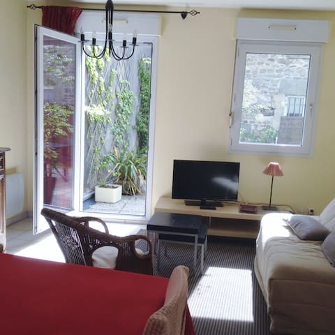 cosy one bedroom holiday rental - Saint-Vaast-la-Hougue - Lägenhet