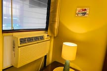 Each bedroom has it's own Air Conditioning unit with remote control