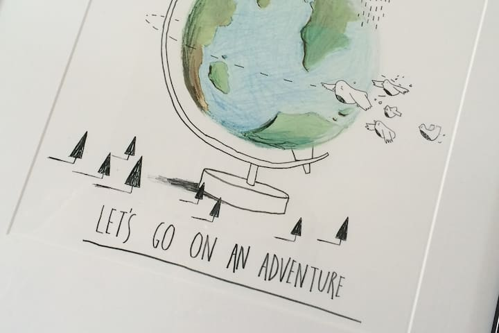 The Pink House - 'Lets go on a adventure!'