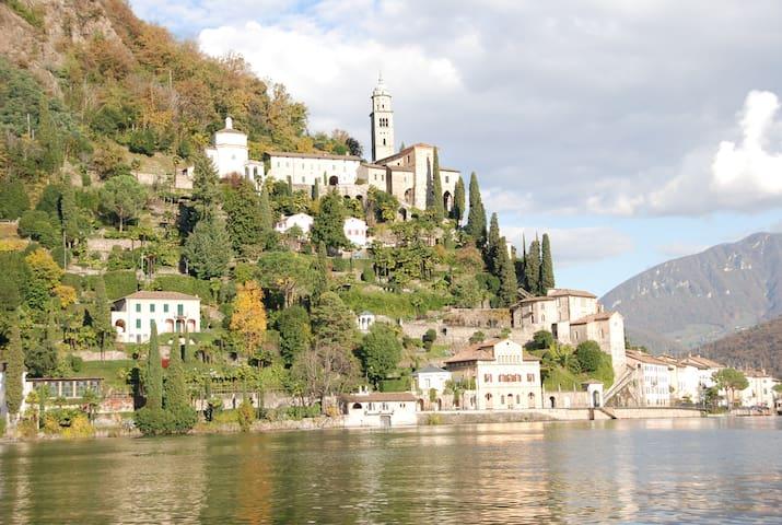 Morcote- amazing apartment on the lack of Lugano