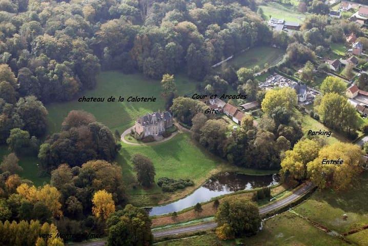 Château de la Caloterie - Montreuil - Wikt i opierunek