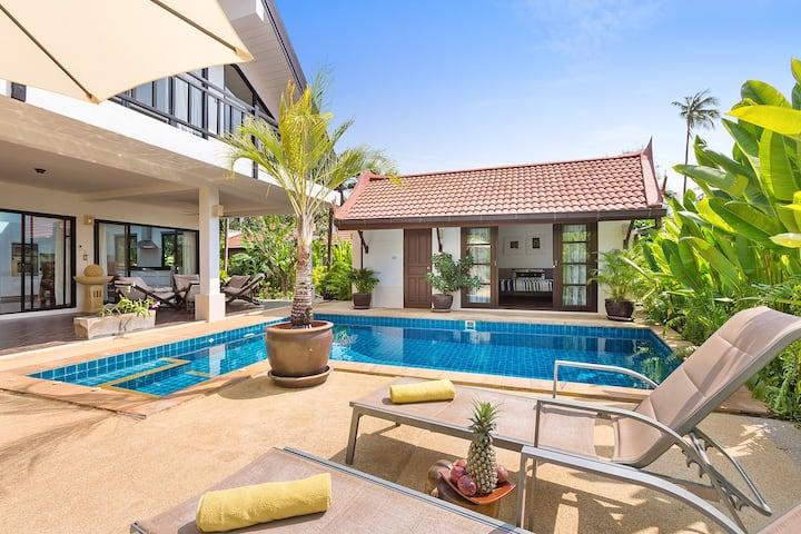 Malee Beach Pool Villa A8, Koh Lanta, Krabi