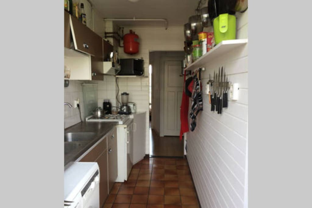 Fully equiped kitchen!