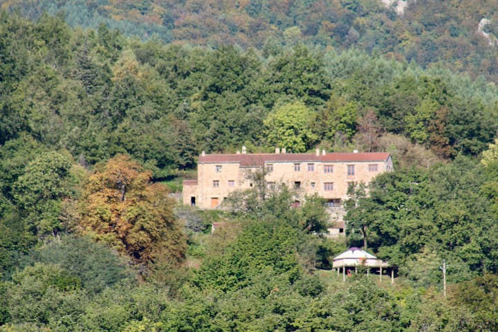 La Taillede; Catalan hill farm with pool and spa