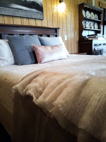We have just updated all of our bedding using soft cotton sheets, plush fabrics and cosy textures.