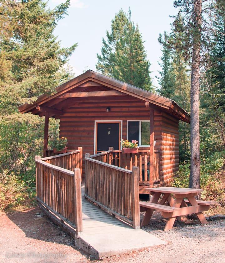 Ranger Cabin 01 near Glacier National Park
