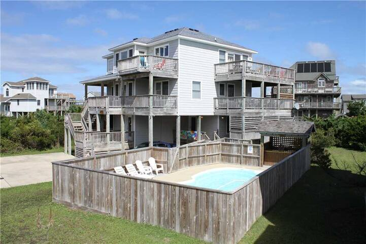 Oceanside in Waves w/Htd Pool&HotTub, RecRoom