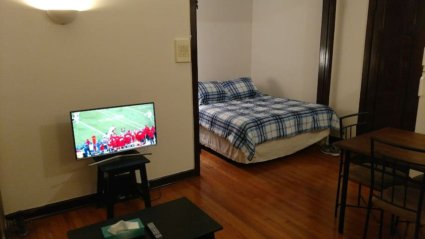 Great Studio Apt in Heart of Wrigley, Lakeview!