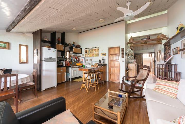 """"""" Gorgeous ocean view apartment on - Olinda"""