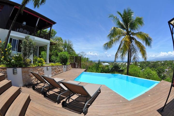 L' Hacienda - T2  neuf avec piscine privée