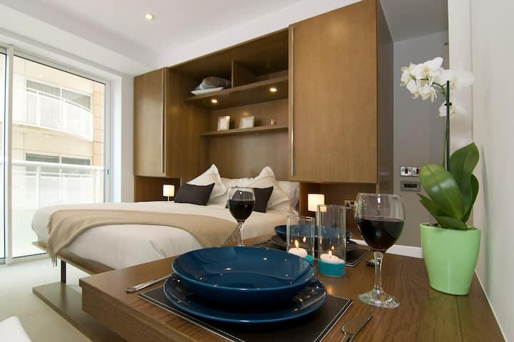 Westone Luxury Studio Apartment With Balcony