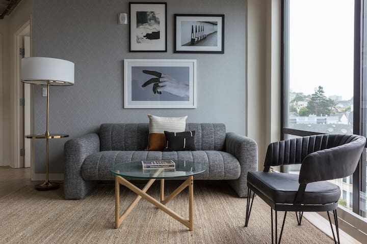 Sonder   Duboce Apartments   Stylish 1BR + Rooftop