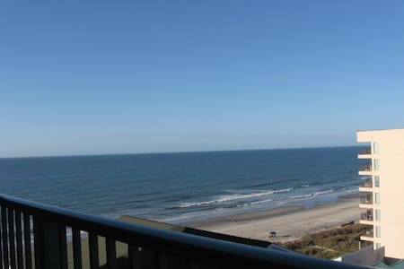 Beach Lover's Condo With Spectacular Ocean Views! - North Myrtle Beach