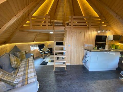 Hytte av høy kvalitet med utsikt over Ben Nevis