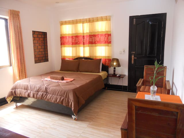 Deluxe Double Room with Balcony A/C