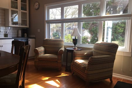 Big two bedroom apartment near Commercial Drive.