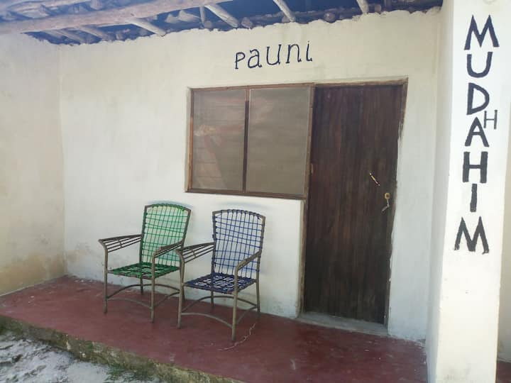 Bwejuu Garden View Bungalow- Pauni double room