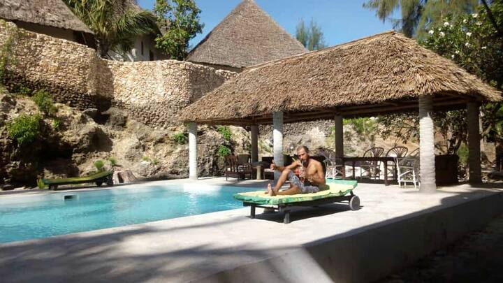 Apartment with swimming pool near Watamu Beach