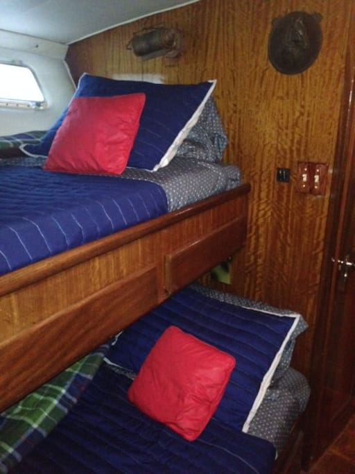 Bow Stateroom Bed 2 & 3