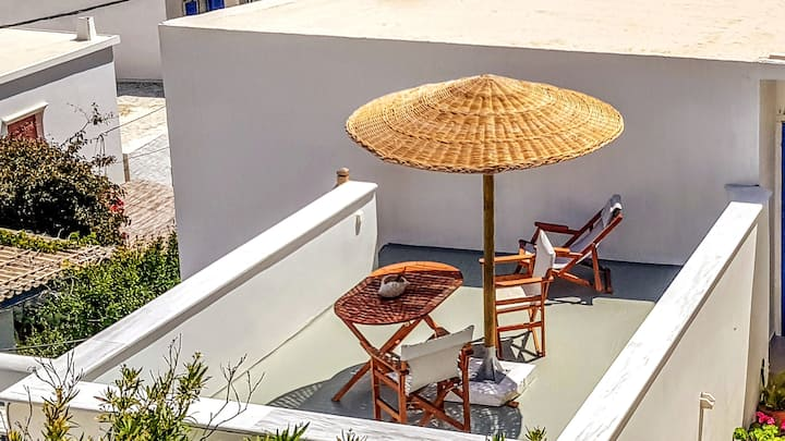 Studio with Rooftop Terrace | Nearby Sandy Beaches