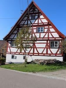 """Ferienhaus """"Mühlewinkel"""" - Stetten am kalten Markt - Pis"""