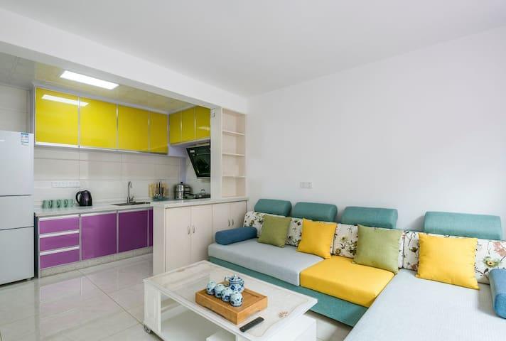蓬莱阁/海水浴场0距离的3居爱龙堡公寓