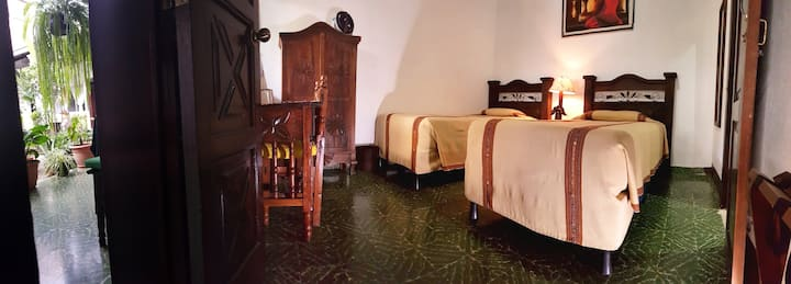 Colonial Posada with breakfast, double room