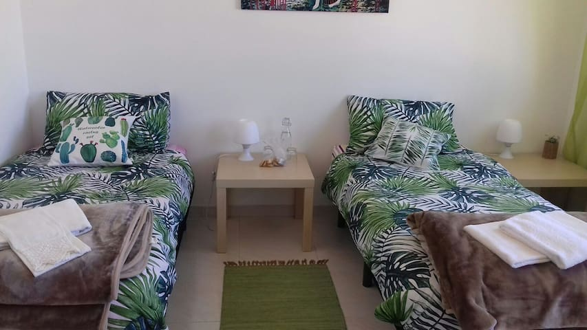 Twin Room with shared bathroom- Casa Luana
