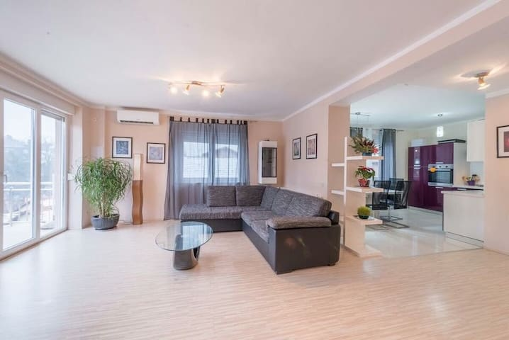 150m2 penthouse, close to forrest and city center