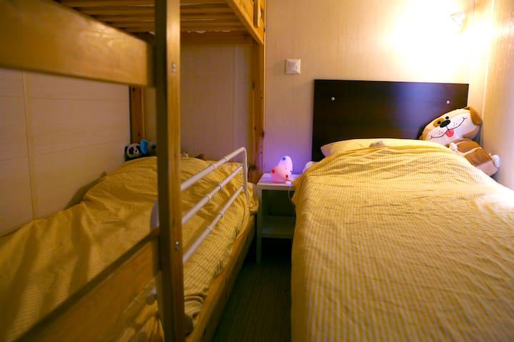 bedroom 3 - het stapelbed is vervangen door een één persoonsbed voor een volwassene. foto volgt!