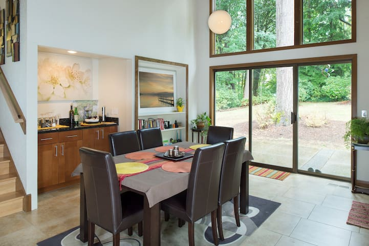 Wine Country House In The Woods, Wa - Woodinville - Talo