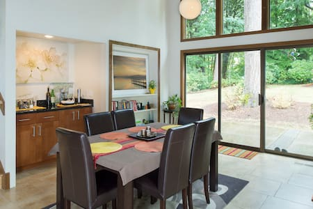 Wine Country House In The Woods, Wa - 伍丁维尔(Woodinville) - 独立屋