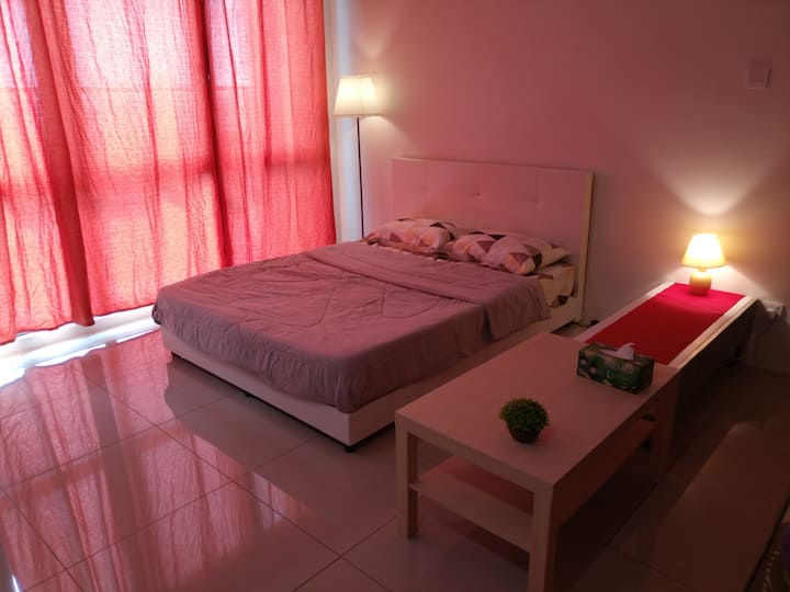 New cozy orange studio@Subang