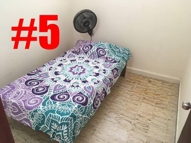 Santa Marta ShareHouse Room 5