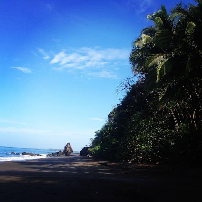 Playa camino del sol à 100 mde l hotel