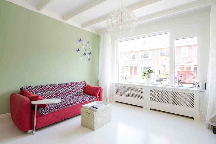 Central, cosy house, free bike - Utrecht - Pis