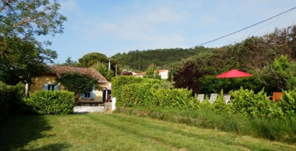 The Railway Cottage at Montazels, Near Carcassonne - Montazels - Huis