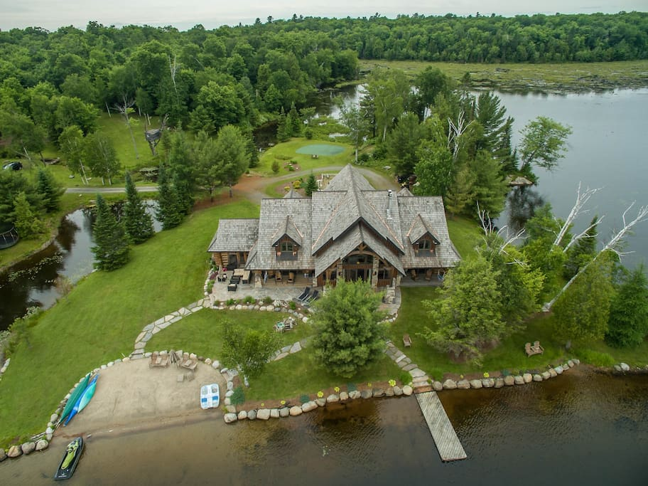 Lorimer lake timberframe dream home houses for rent in for Dream homes ontario