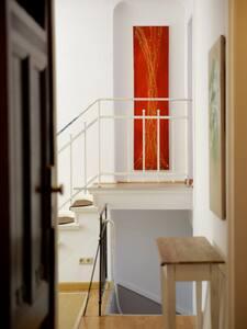 Apartment 'Altberliner Art' zum Wohnen & Arbeiten
