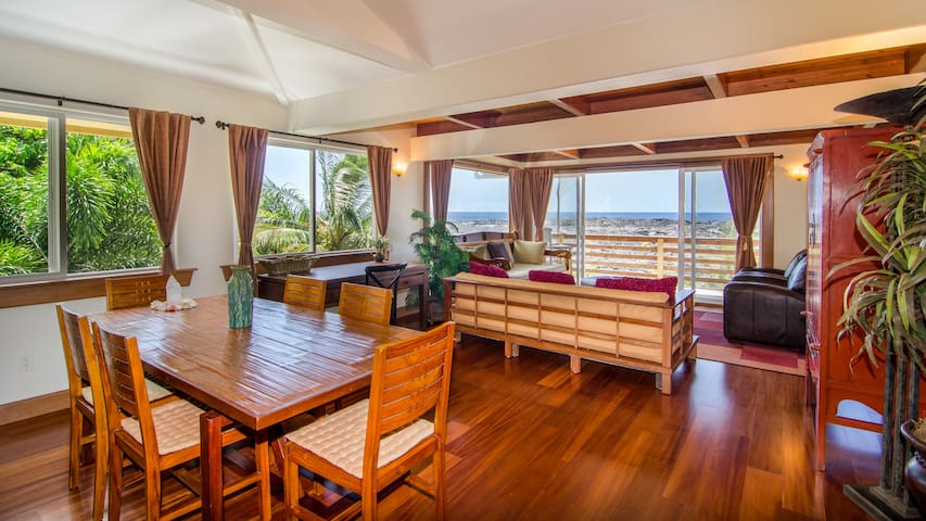 Bali Temple is Luxury & Ocean Views - Pahoa - Casa